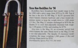 1994 rock shox mag 21 sl 1994 reklama